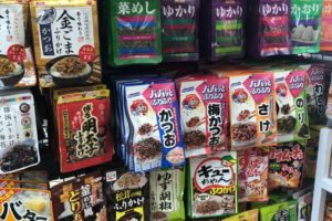 many kinds of furikake picture
