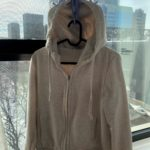 Laundry hanger for sweatshirts with hood picture