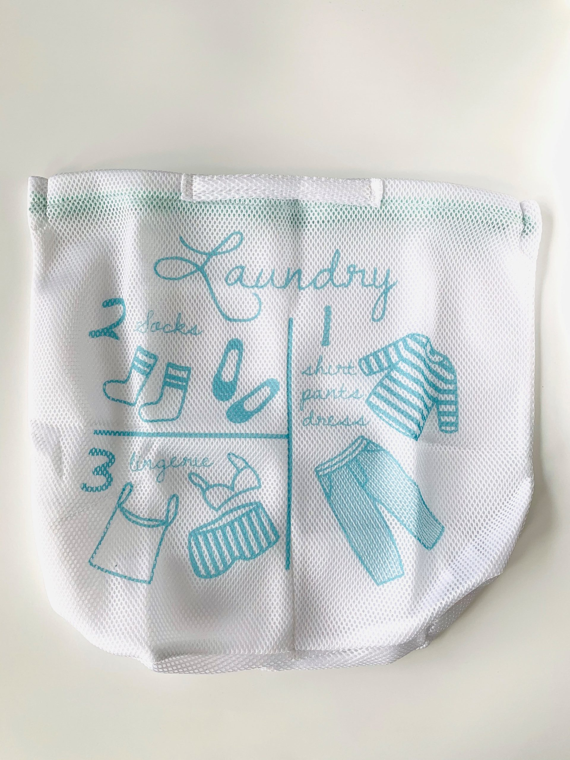 three dividers laundry net bag picture
