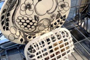 dishiwasher basket in a dishwasherpicture
